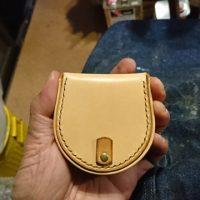 馬蹄型コインケースの作り方-完成